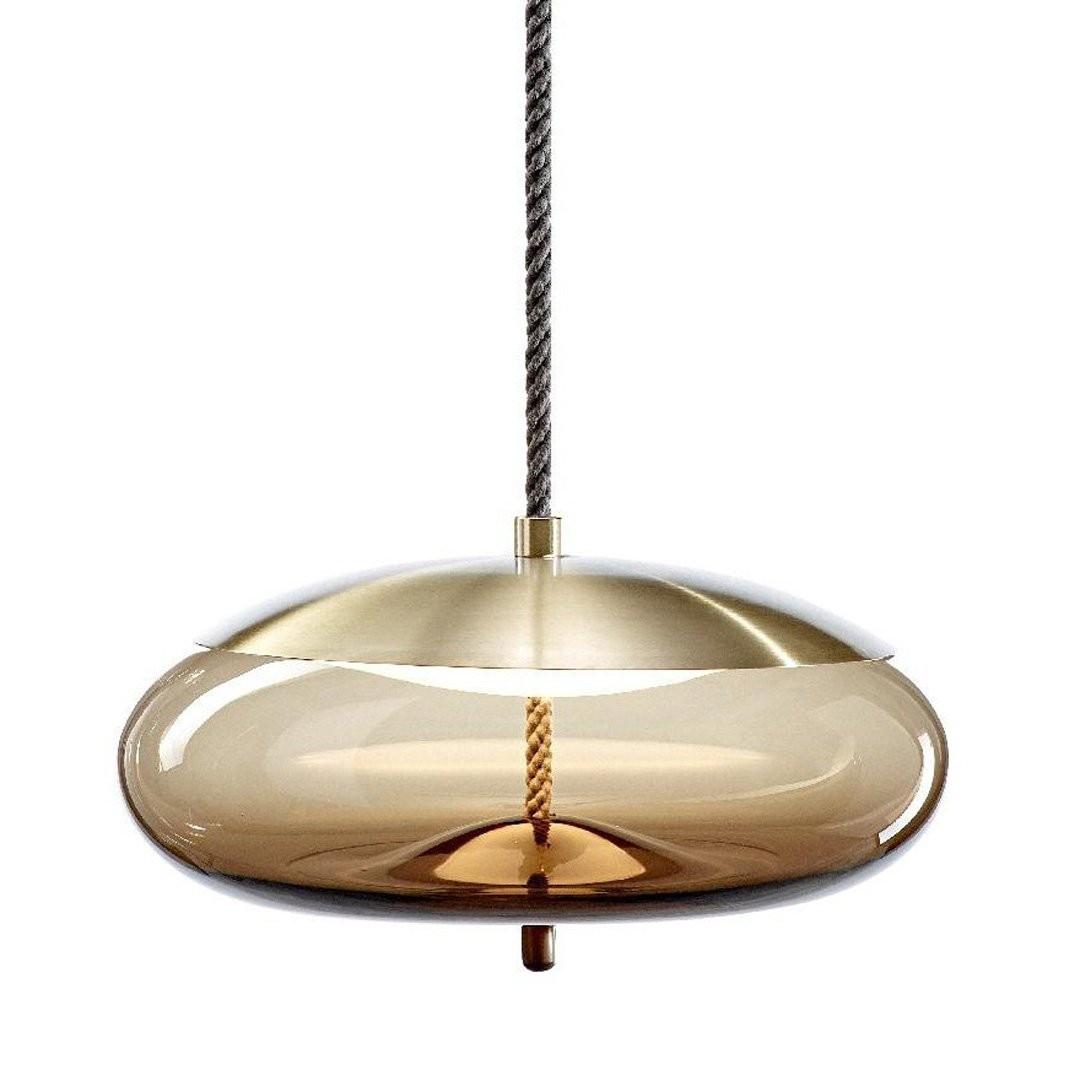 Luminaires chambre design KNOT DISCO, H23.5cm BROKIS