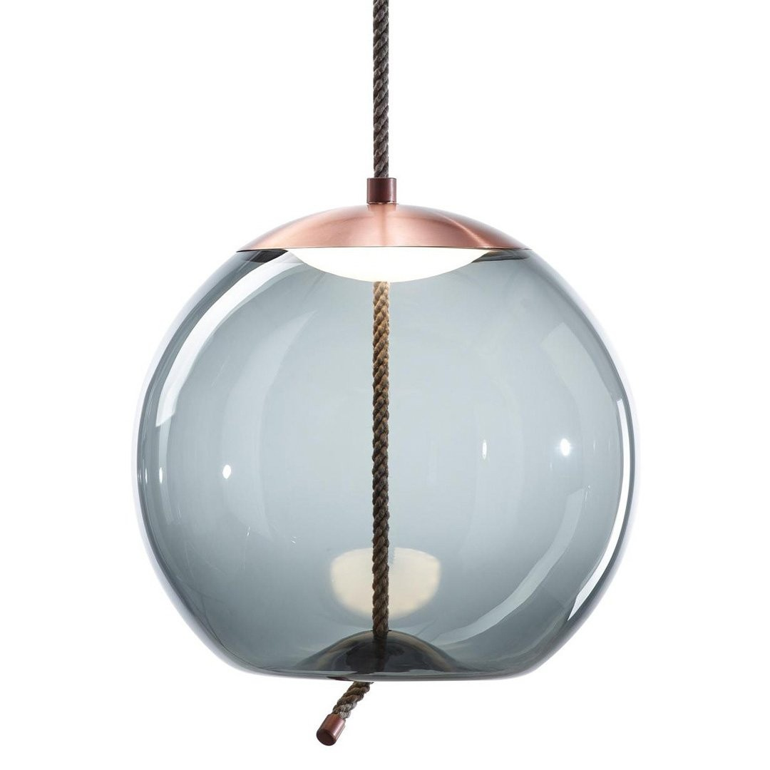 Luminaires chambre design KNOT SMALL SFERA, H30cm BROKIS