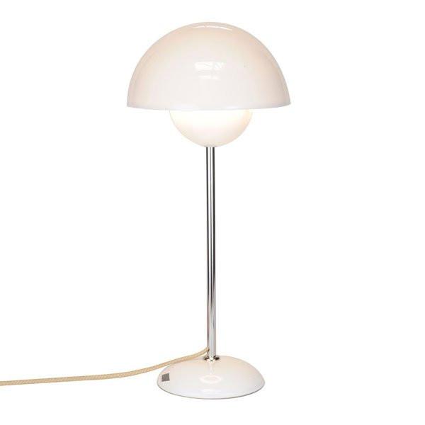 Luminaires chambre design DOMA Blanc, H50cm BTC