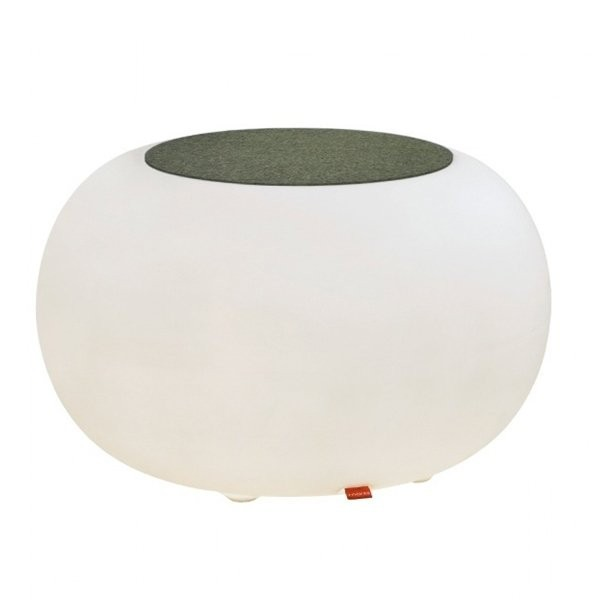 Table basse design & lumineuse BUBBLE EXT Translucide, H41cm MOREE