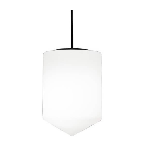 Luminaires salon design BULLET Blanc, H27cm FORMAGENDA