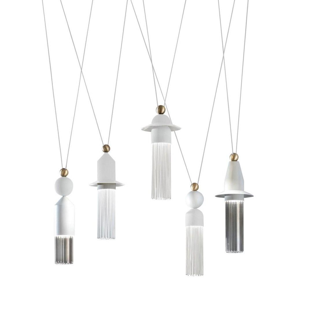 Luminaires salon design NAPPE C5 MASIERO