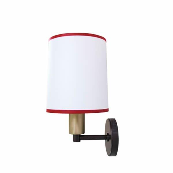 Luminaires salon design CAPORAL Blanc, H28.2cm BROSSIER SADERNE