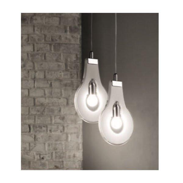 Luminaires salon design FLAT SELENE