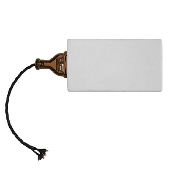 Luminaires entrée GIUSPINA Blanc, H10cm KARMAN
