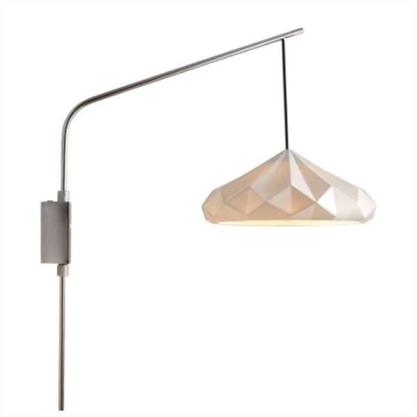 Luminaires chambre design HATTON Blanc, H106cm BTC