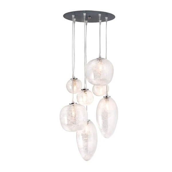Luminaires chambre design CASTEL PLAGE CONCEPT VERRE