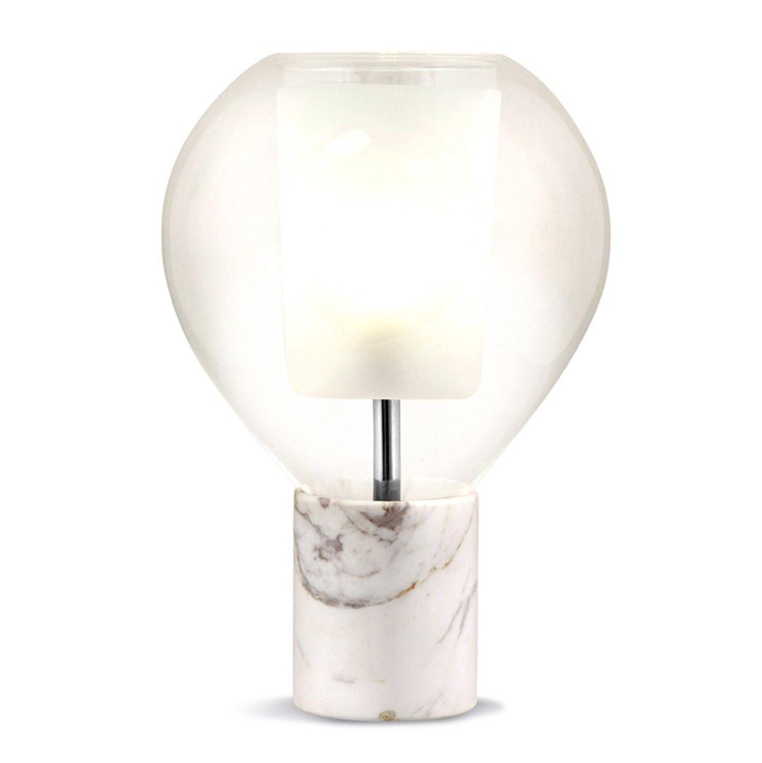 Luminaires chambre design CIRCE, H36cm CONCEPT VERRE