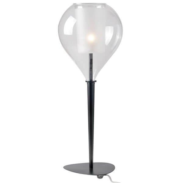Luminaires chambre design CIRCE CONIQUE, H61cm CONCEPT VERRE