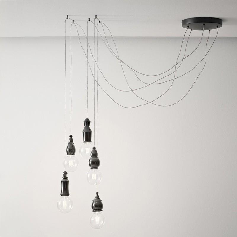 Suspensions plafonniers de luxe FATE 5 Aldo BERNARDI