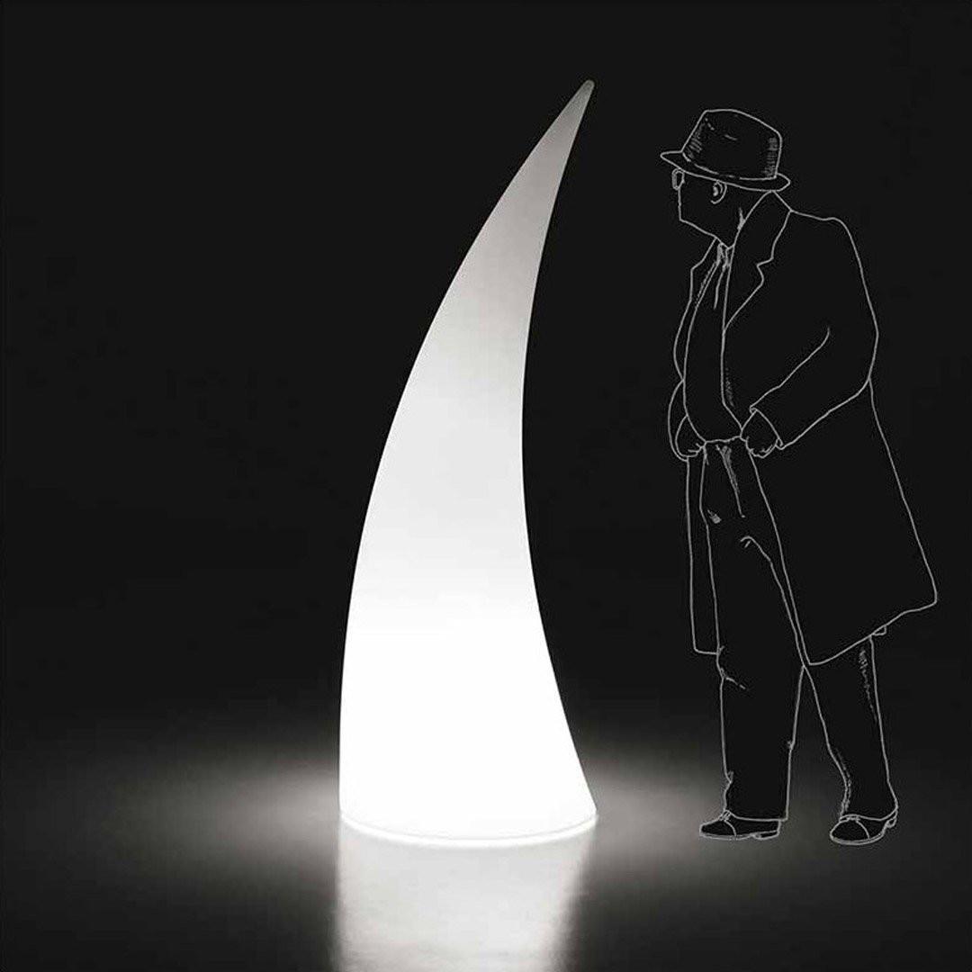 Luminaires de luxe extérieur HORN Blanc, H180cm PLUST COLLECTION