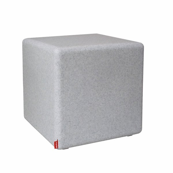 Tabouret design & lumineux - Tabouret de bar CUBE Granite, H45cm MOREE