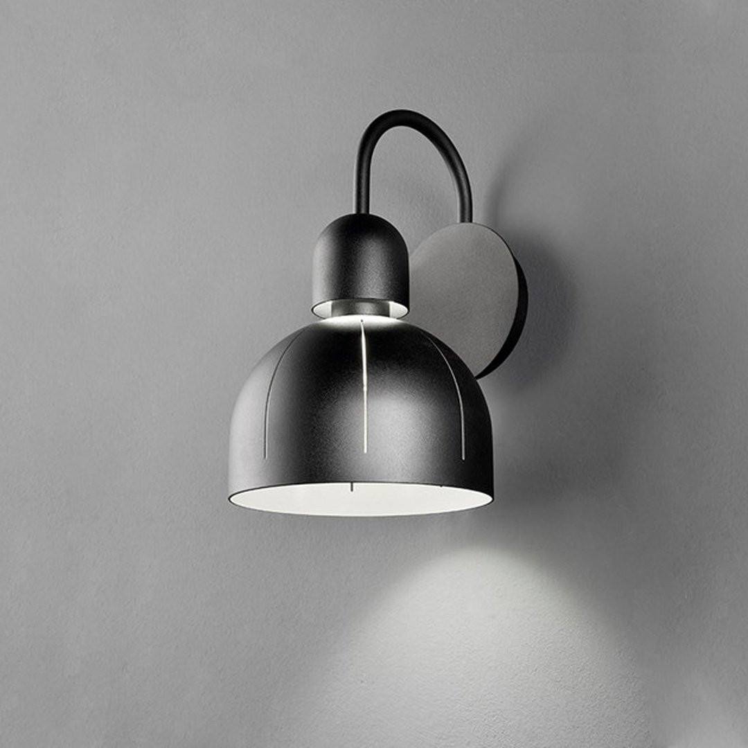 Luminaires chambre design CUPOLE, H34cm MASIERO