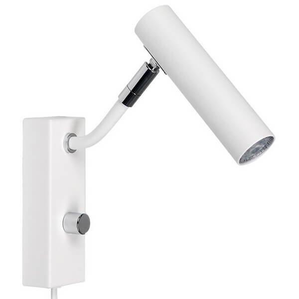 Luminaires chambre design D-33 Blanc, H20.5cm BELID