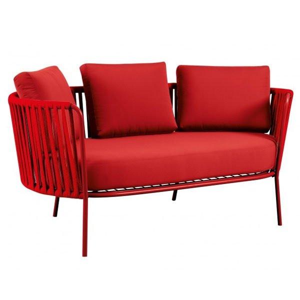 Canapé Design & Lumineux - Sofa DÉSIRÉE ROPE, H71cm VERMOBIL