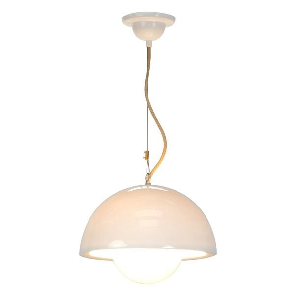 Luminaires chambre design DOMA, Blanc BTC