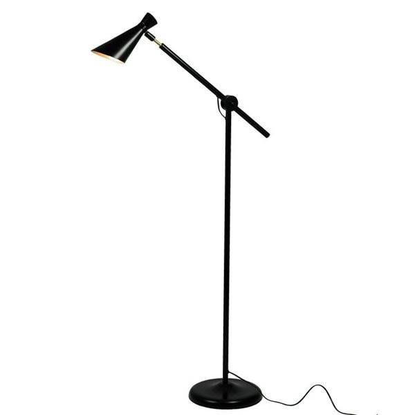 Lampadaires noirs ELYSE Noir, H135cm BROSSIER SADERNE