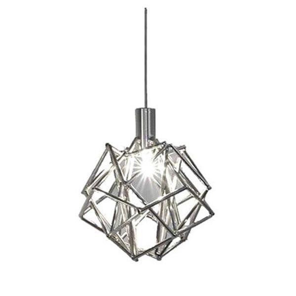 Luminaires chambre design ETOILE Nickel, O16cm TERZANI