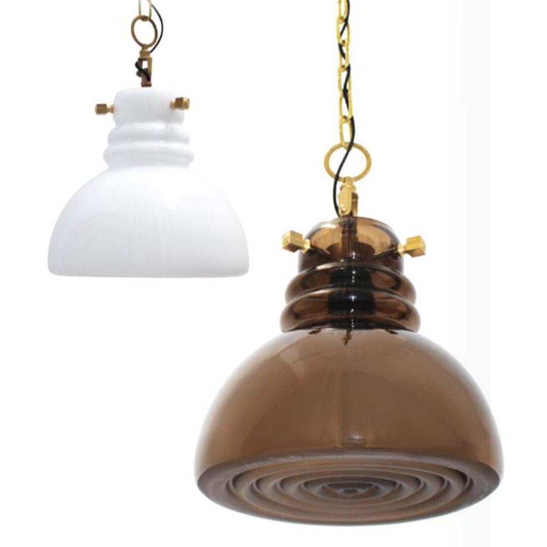 Luminaires salon design FACTORY CONCEPT VERRE