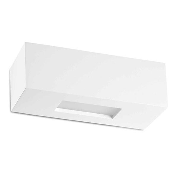 Luminaires entrée CHERAS (VENDUE PAR 2) Blanc, H7.5cm FARO