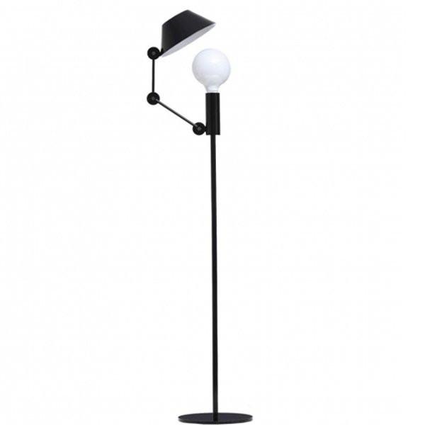 Luminaires chambre design MR LIGHT TALL Noir, H135cm NEMO