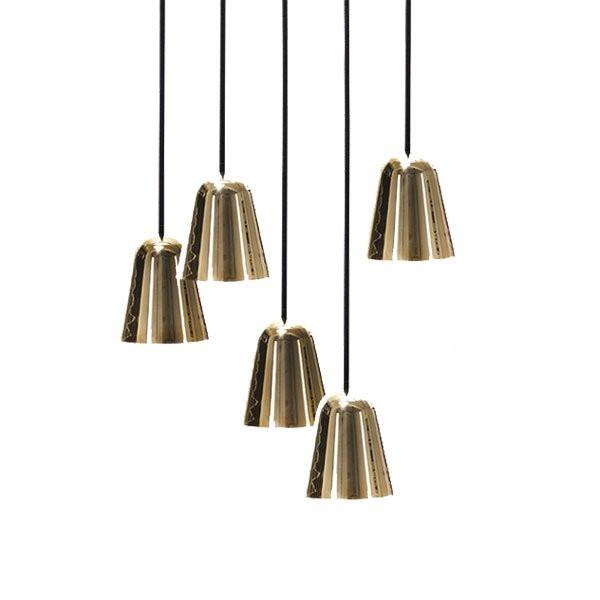 Luminaires salon design CHAPLIN CHANDELIER 5, H10cm FORMAGENDA