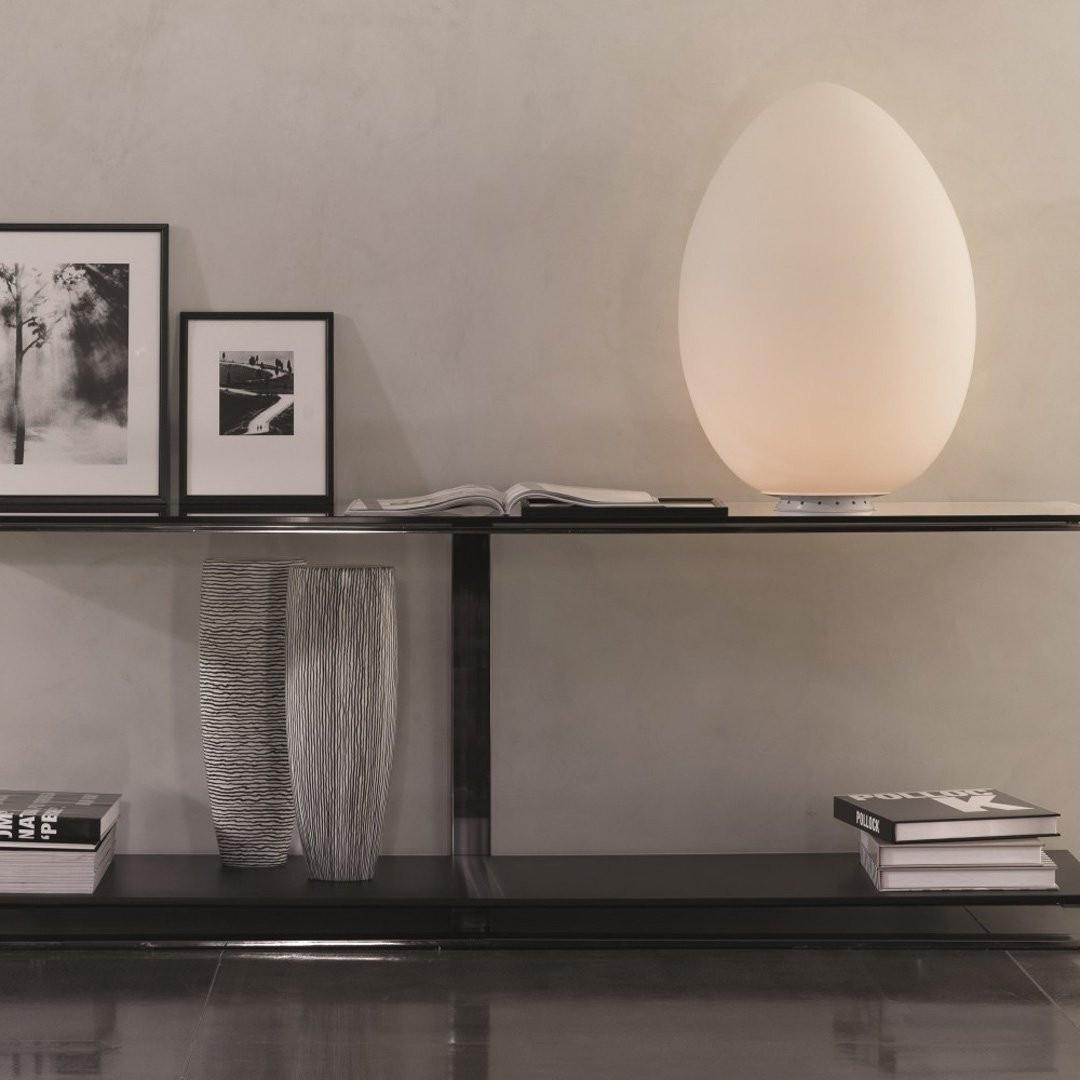 Luminaires entrée UOVO LED, Blanc FONTANA ARTE