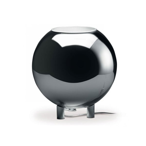 Luminaires chambre design GLOBO DI LUCE Chrome, H47cm FONTANA ARTE