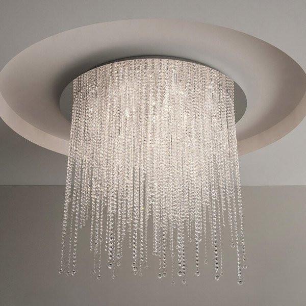 Luminaires entrée ICE FALL Chrome, H45cm ILFARI
