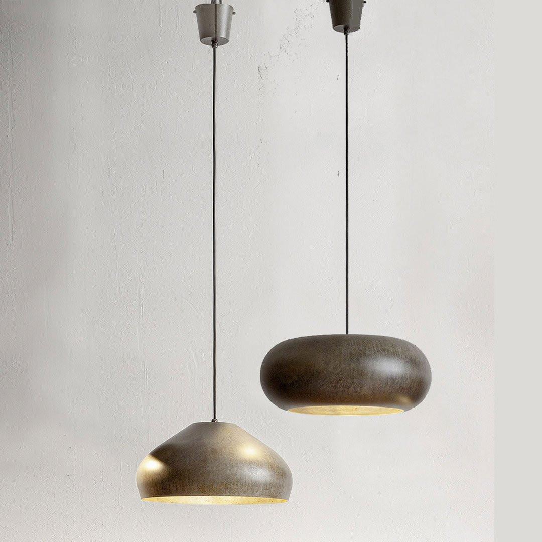 Luminaires salon design MATERIA, Acier Aldo BERNARDI