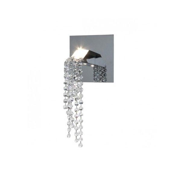 Luminaires entrée BEAUTY OF SILENCE Chrome, H15cm ILFARI