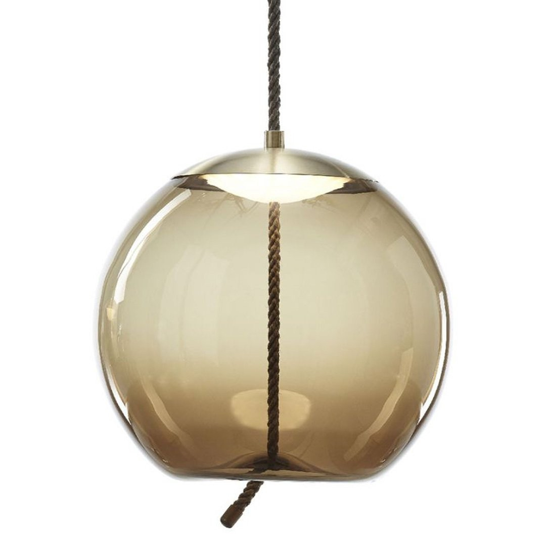 Luminaires chambre design KNOT SFERA, H49cm BROKIS