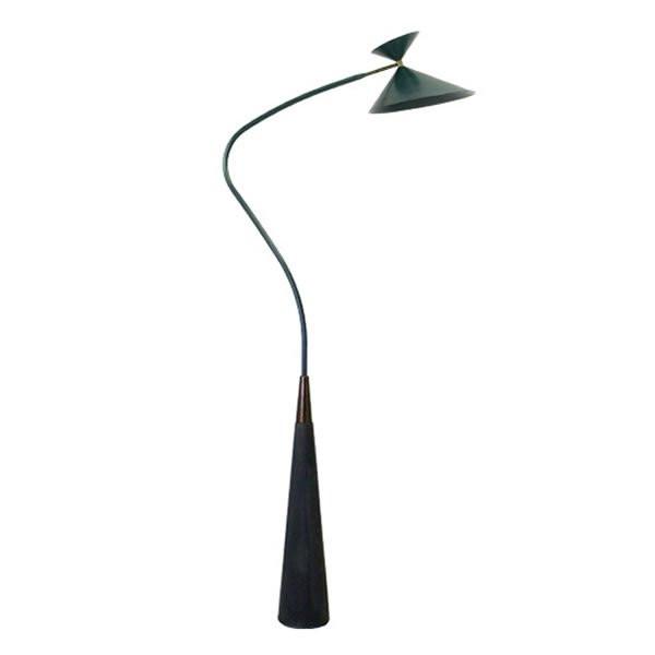 Luminaires chambre design KAA Noir, H205cm BROSSIER SADERNE
