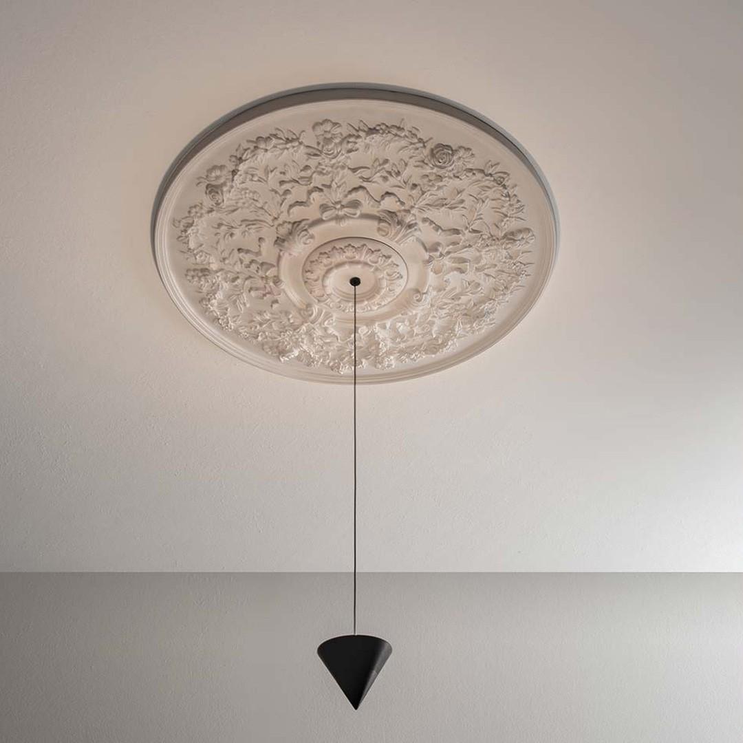 Luminaires chambre design MOONBLOOM, Ø40cm KARMAN