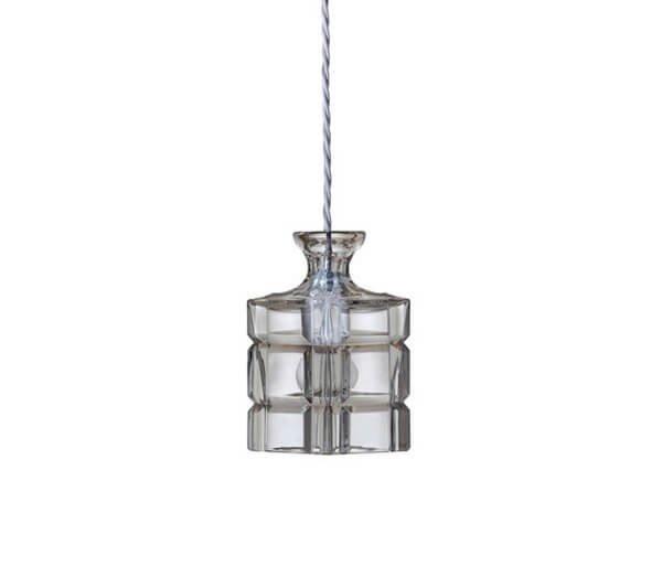 Luminaires chambre design CLYDE CRYSTAL Transparent, H17.5cm EBB&FLOW