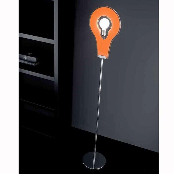 Luminaires chambre design FLAT, H188cm SELENE