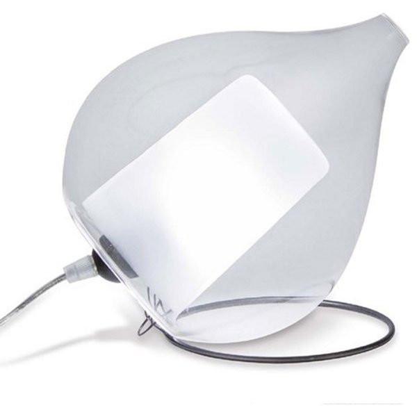 Luminaires chambre design CIRCE, H23cm CONCEPT VERRE