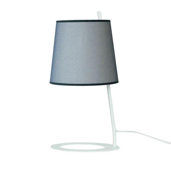 Luminaires chambre design SIMONE Noir et blanc, H47cm LUZ EVA