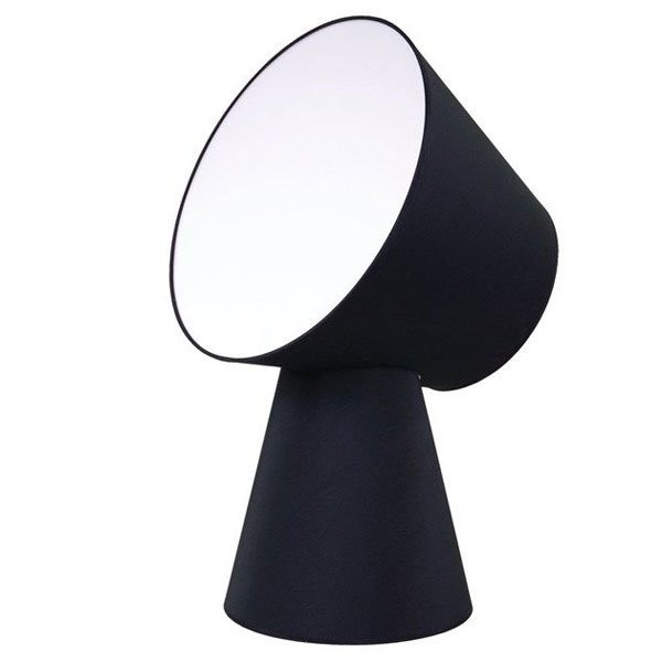 Luminaires chambre design NOEMIE Noir, H65cm LUZ EVA