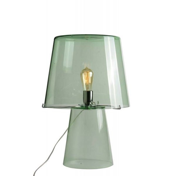 Luminaires chambre design HERMÈS, H46cm CONCEPT VERRE