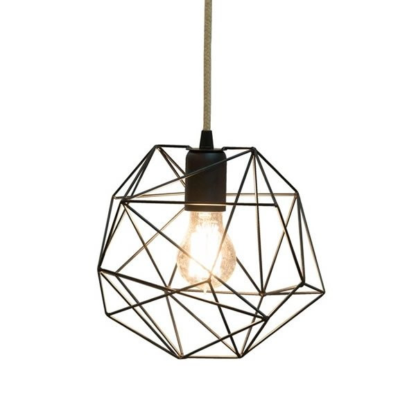 Luminaires salon design LIGHT001 Noir, H22cm BROSSIER SADERNE