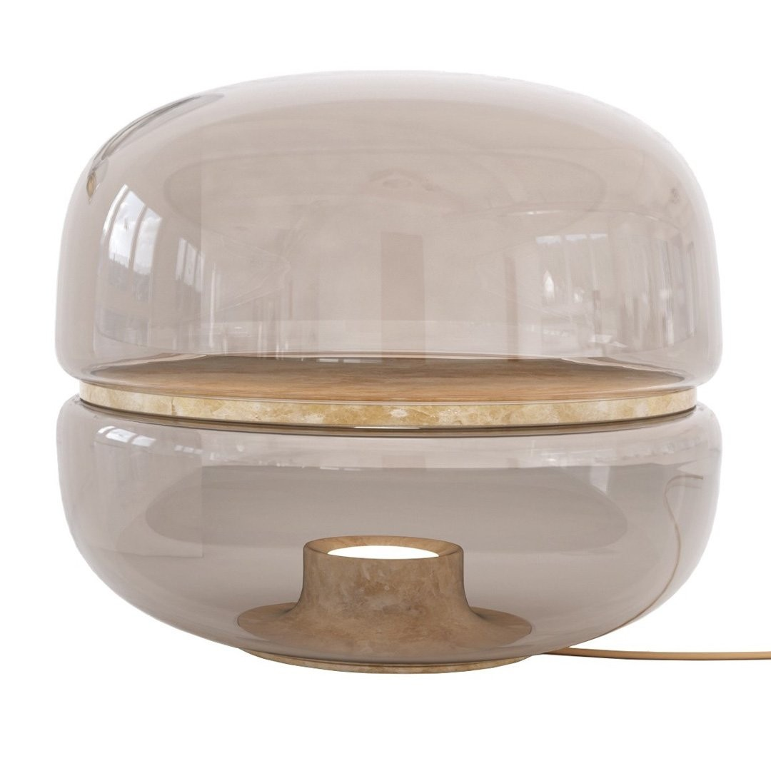 Lampes à poser salon MACARON, Ø54cm BROKIS