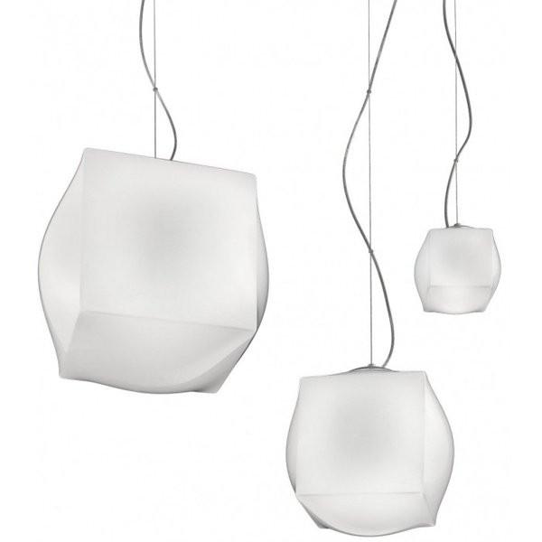 Luminaires salon design MACONDO, Blanc NEMO