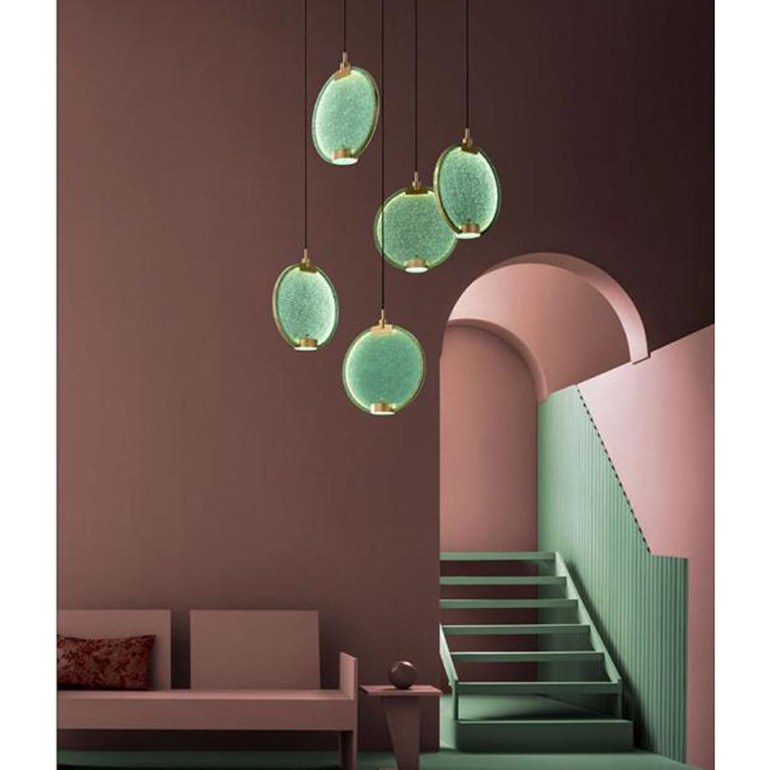 Luminaires salon design HORO MASIERO