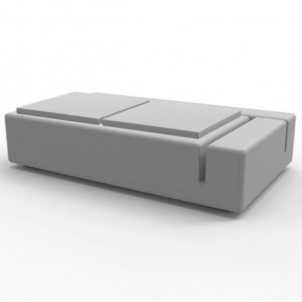 Canapé Design & Lumineux - Sofa KES, H38cm VONDOM