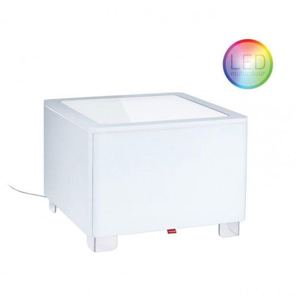 Mobilier Lumineux ORA Blanc, H45cm MOREE
