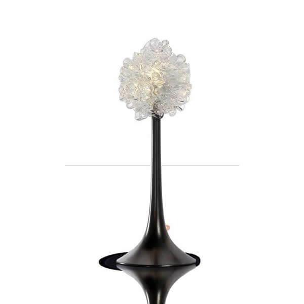 Luminaires chambre design NEBULA Blanc, H39cm CONCEPT VERRE
