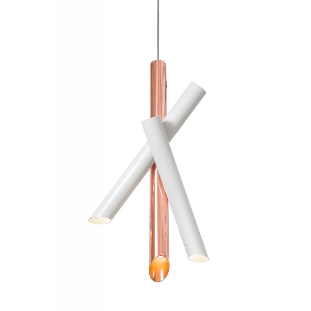 Luminaires salon design TUBES, H50cm NEMO