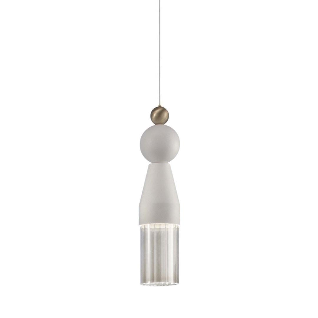 Luminaires salon design NAPPE N0, H34cm MASIERO