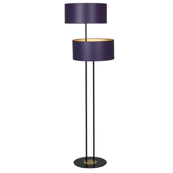 Suspensions plafonniers de luxe OLERON Violet, H135cm BROSSIER SADERNE